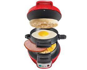 Breakfast Sandwich Maker - Röd (25476-SC)