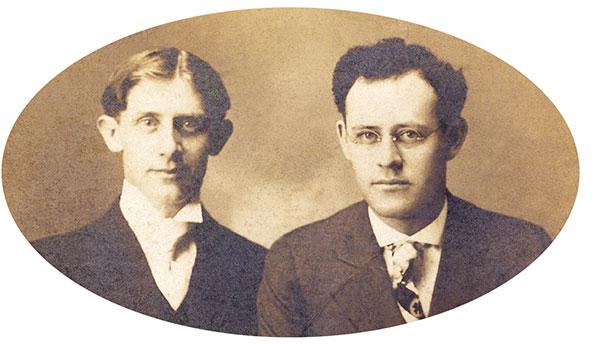 L. H. Hamilton and Chester Beach